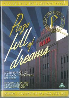 DVD - Plaza Full of Dreams- Plaza Stockport